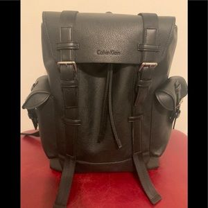 Calvin Klein backpack leather